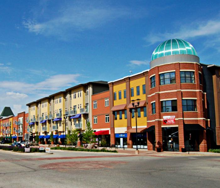 West Town Apartments: West Glen Town Center